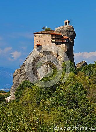 Monastery Agios Nikolaos at Meteora, Greece