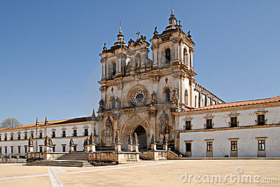 The Monastery of Alcobaca, Portugal.