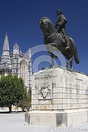 Monastery of Batalha and Statu