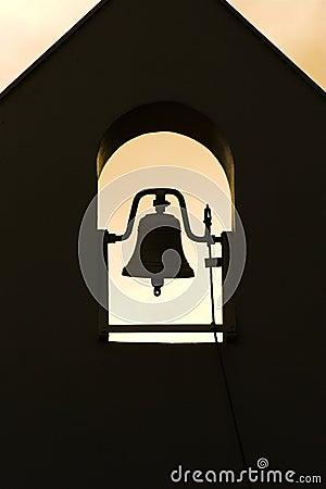 Free Monastery Bell Silhouette Stock Photos - 3708533