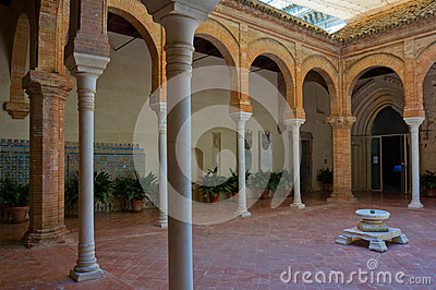 Monastery Of The Cartuja,  Seville,  Spain Stock Images - Image: 25975364