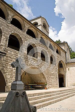 Monastery Cetinje architecture