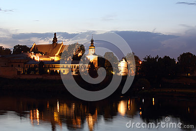 Monastery and church- Salwator, Krakow, Poland