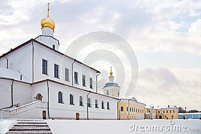Monastery in city to Kolomna