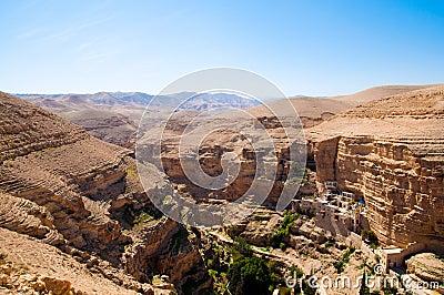 Monastery in desert