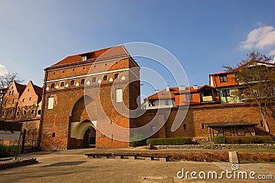 Monastery Gate, Torun, Poland