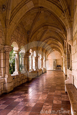 Free Monastery Hallway 5 Stock Photo - 1850780
