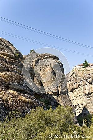 Monastery Of The Holy Trinity, Meteora Royalty Free Stock ...