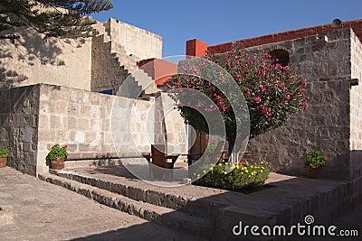 Monastery leisure corner