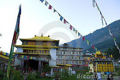 Monastery at Manali