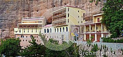 The Monastery of Mega Spilaio, Greece