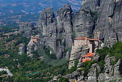 Monastery at Meteora, Greece