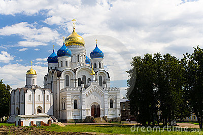 Monastery in Moscow region