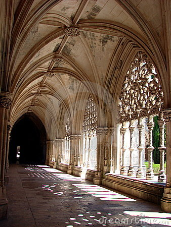 Free Monastery Of Batalha, Cloister Royalty Free Stock Photos - 3575878