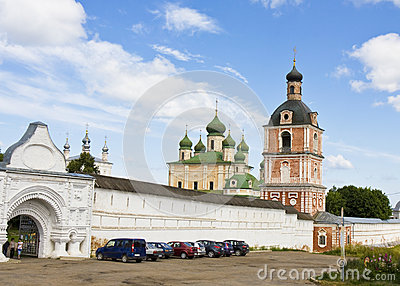 Monastery in Pereslavl-Zalesskiy, Russia Editorial Image