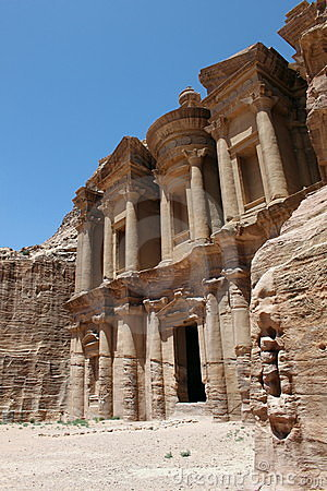 Monastery in Petra.