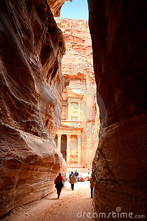 Monastery at Petra in Jordan