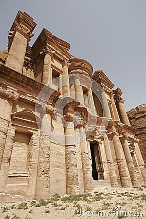 Monastery, Petra, Jordan, Middle East