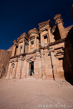 Monastery in Petra, wonder