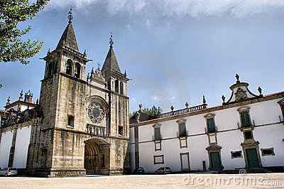 Monastery of Pombeiro in Felgueiras, north of Portugal.