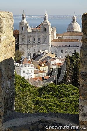 Free Monastery Sao Vicente De Fora, Castle Of Lisbon Stock Photo - 7828300