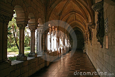 Monastery Scene