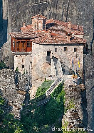 The Monastery of St. Barbara, Greece