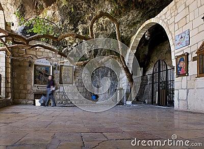 The monastery of St Thekla