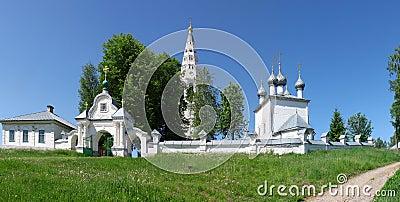 Monastery in Sudislavl, Russia