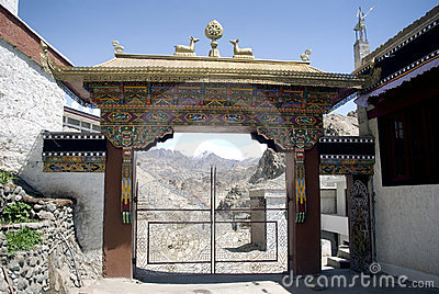 Monastery, Tiksey, Ladakh, India