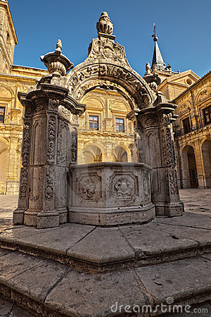 Monastery of Ucles in Spain