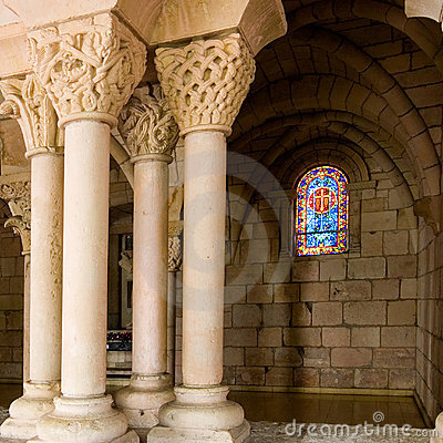 Free Monastery Window 2 Royalty Free Stock Images - 1844939