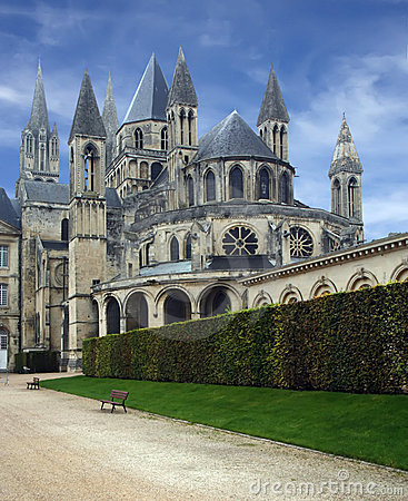 Monastry at caen in france 2