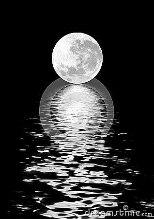 Mond-Schönheit