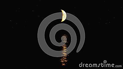Mond-Wasser