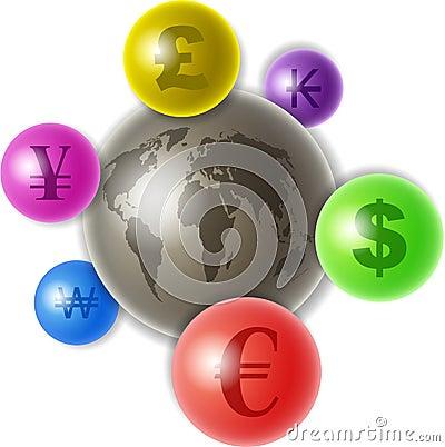 Monde de devise