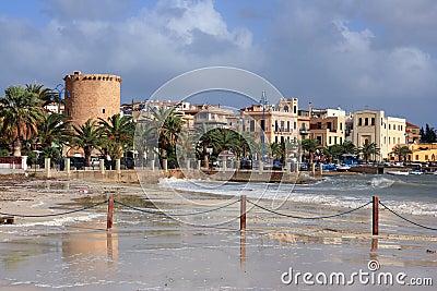 Mondello beach, Island of Sicily
