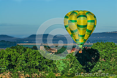 Mondial hot Air Ballon reunion in Lorraine France Editorial Photography