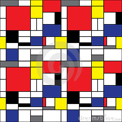 Mondrian Background