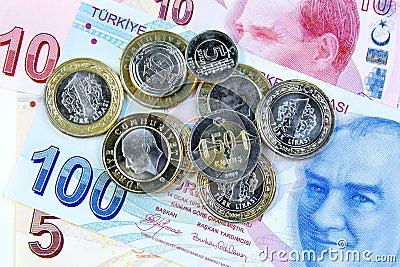 Monedas turcas