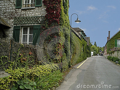 Monet s village, Giverny, France