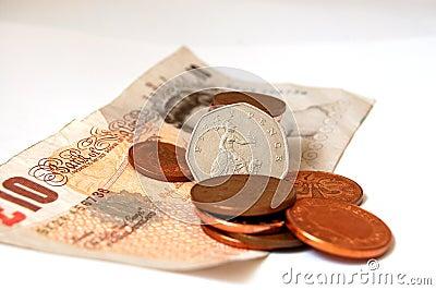 Monety królowej.