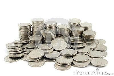 Money - 10 Pence Pieces