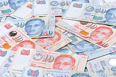 Singapore Money Stock Photo, Picture And Royalty Free Image. Image ...