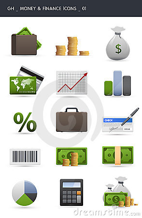 Free Money And Finance Icons _01 Royalty Free Stock Image - 16404156