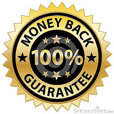 Free Money Back Guarantee Stock Photography - 15048772