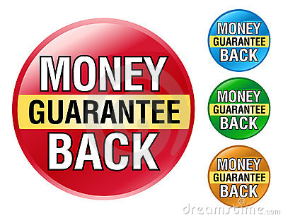 Money Back Guarantee Icon Set