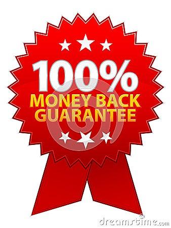Money Back Guarantee Ribbon / EPS