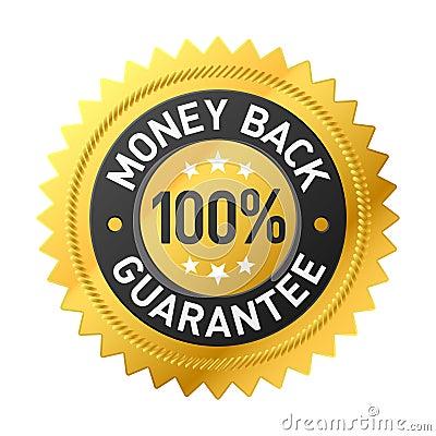 Money back label