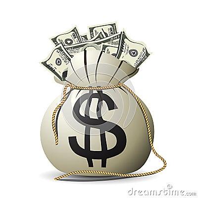 Free Money Bag Stock Images - 16262524